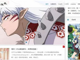 动漫网站1岁总结