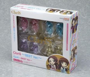 claris透明粘土纸盒