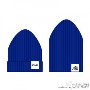 claris棉帽