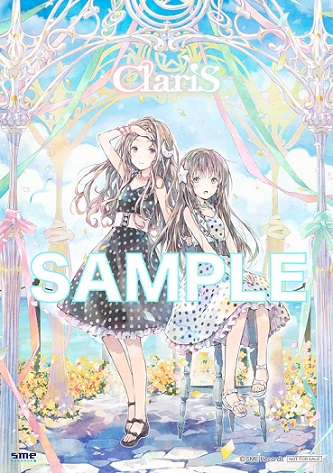 ClariS网络版插画