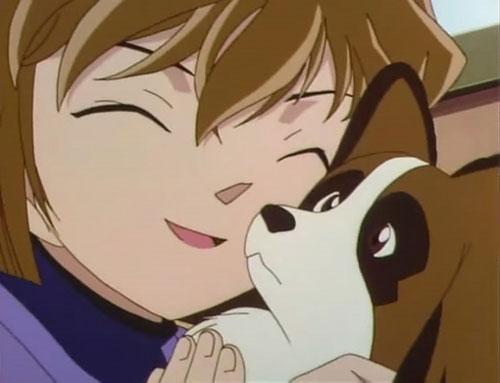 灰原哀喜欢狗